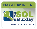 SQL Saturday 211 Chicago