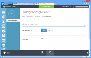 HDInsight Cluster Configuration : Enable Remote