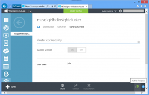 HDInsight: Enabling remote desktop